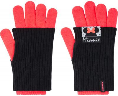 Перчатки для девочек DemixВязаные перчатки от demix порадуют маленьких любительниц спортивного стиля.<br>Пол: Женский; Возраст: Дети; Вид спорта: Спортивный стиль; Производитель: Demix; Артикул производителя: A18ADGLG19; Страна производства: Россия; Материал верха: 100 % акрил; Размер RU: 18;