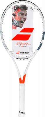 Ракетка для большого тенниса Babolat Pure Strike 16X19Новейшая ракетка, специально разработанная для игроков, которые хотят совместить скорость с точностью. Модель подойдет для профессионального уровня игры.<br>Материал ракетки: Графит; Вес (без струны), грамм: 305; Размер головы: 630 кв.см; Баланс: 320 мм; Длина: 27; Струнная формула: 16х19; Стиль игры: Агрессивный стиль; Технологии: Hybrid Frame Technology; Производитель: Babolat; Артикул производителя: 101282; Срок гарантии: 2 года; Страна производства: Китай; Вид спорта: Теннис; Уровень подготовки: Профессионал; Наличие струны: Опционально; Наличие чехла: Опционально; Размер RU: 4;