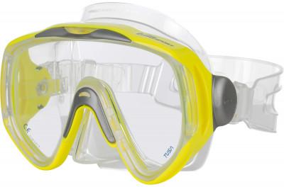 Маска для плавания TusaМаска tusa sport umr-14 fy. Одностекольная маска с ультра широким панорамным обзором. Закаленное безопасное стекло tempered glass.<br>Состав: Силикон, пластик, стекло; Клапан: Нет; Количество линз: 1; Вид спорта: Подводное плавание; Производитель: Tusa; Артикул производителя: UMR-14; Страна производства: Тайвань; Размер RU: Без размера;