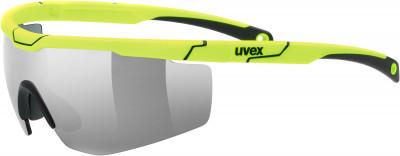 Солнцезащитные очки Uvex Sportstyle 117Спортивные очки uvex со сменными линзами для защиты от солнца и занятий спортом. Защита от ультрафиолета 100% защита от вредного уф-излучения.<br>Возраст: Взрослые; Пол: Мужской; Цвет линз: Серебристый; Цвет оправы: Желтый; Назначение: Бег, велоспорт; Вид спорта: Бег, Велоспорт; Ультрафиолетовый фильтр: Да; Поляризационный фильтр: Нет; Зеркальное напыление: Да; Категория фильтра: 03.01.2018; Материал линз: Поликарбонат; Оправа: Пластик; Технологии: LITEMIRROR; Производитель: Uvex; Артикул производителя: S5319797716; Срок гарантии: 1 месяц; Страна производства: Тайвань; Размер RU: Без размера;
