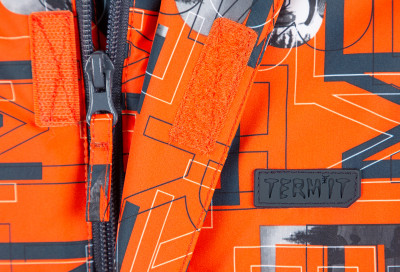 Фото 5 - Куртку утепленная для мальчиков Termit, размер 164 красного цвета