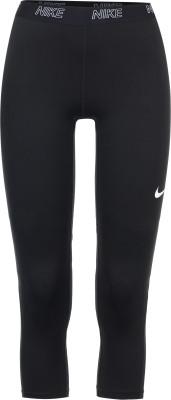 Бриджи женские Nike VictoryЖенские бриджи nike victory, выполненные из влагоотводящей ткани, станут отличным выбором для тренировок.<br>Пол: Женский; Возраст: Взрослые; Вид спорта: Фитнес; Силуэт брюк: Облегающий; Материал верха: 80 % полиэстер, 20 % эластан; Технологии: Nike Dri-FIT; Производитель: Nike; Артикул производителя: 889596-011; Страна производства: Вьетнам; Размер RU: 46-48;