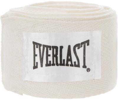Бинт Everlast, 2,75 м, 2 шт.Бинт используется для защиты рук от травм. Петля и липучка на концах бинта обеспечивают надежную фиксацию. Длина 275 см бинты поставляются в комплекте из 2 штук.<br>Материалы: 100% хлопок; Вид спорта: Бокс, ММА; Производитель: Everlast; Артикул производителя: 4455PU; Срок гарантии: 30 дней; Размер RU: 2,75 м;