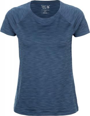 Футболка женская Mountain Hardwear Mighty StripeТехнологичная футболка для походов и активного отдыха на природе от mhw. Отведение влаги технология wick. Q обеспечивает эффективный влагоотвод.<br>Пол: Женский; Возраст: Взрослые; Вид спорта: Походы; Защита от УФ: Да; Покрой: Приталенный; Плоские швы: Да; Светоотражающие элементы: Нет; Дополнительная вентиляция: Нет; Длина по спинке: 69 см; Материалы: 91 % полиэстер, 9 % эластан; Технологии: Wick.Q; Производитель: Mountain Hardwear; Артикул производителя: 1708341493XL; Страна производства: Китай; Размер RU: 50;