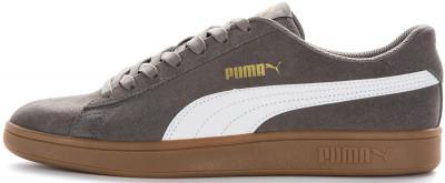 Кеды мужские Puma Smash V2, размер 41,5Кеды <br>Классика спортивного стиля от puma - удобная замшевая модель smash v2. Комфорт обновленная колодка обеспечивает комфорт.