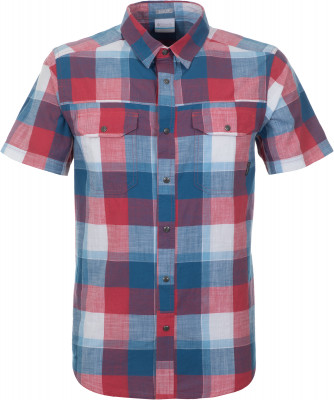 Рубашка мужская Columbia Leadville Ridge YD, размер 52-54Рубашки<br>Мужская рубашка columbia из легких натуральных материалов станет отличным выбором для путешествий.