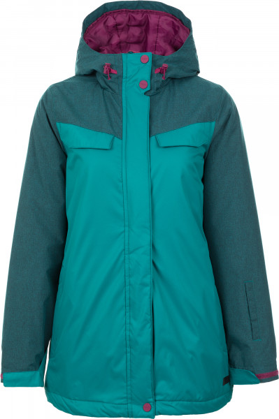797b6a7eaa5 Куртка утепленная женская Termit зелёный цвет - купить за 2499 руб. в  интернет-магазине Спортмастер