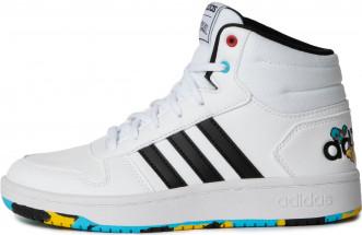Кеды высокие детские Adidas Hoops Mid 2.0