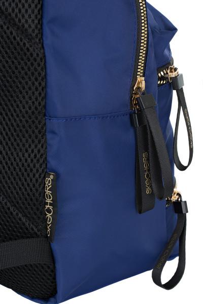 38ab54ba23ab Рюкзак женский Skechers синий цвет — купить за 1799 руб. в  интернет-магазине Спортмастер