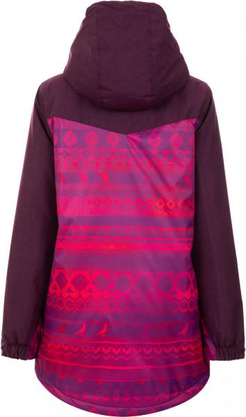 2da572297d8 Куртка утепленная женская Termit малиновый цвет - купить за 2499 руб. в  интернет-магазине Спортмастер
