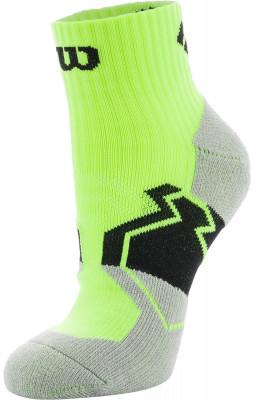 Носки Wilson Running Low Cut, 1 параСпортивные носки для бега. Мохровая пятка и мысок придают дополнительную мягкость. Поддержка свода стопы обеспечивает комфорт во время бега и ходьбы. В комплекте 1 пара.<br>Пол: Мужской; Возраст: Взрослые; Вид спорта: Бег; Материалы: 51% нейлон, 37% полиэстер, 9% хлопок, 3% эластан; Производитель: Wilson; Артикул производителя: W409-Y; Страна производства: Китай; Размер RU: 35-38;