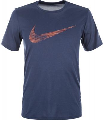Футболка мужская Nike Dry LegendМужская футболка для тренинга nike dry legend обеспечивает комфорт во время занятий спортом. Отведение влаги ткань с технологией nike dri-fit отводит влагу от кожи.<br>Пол: Мужской; Возраст: Взрослые; Вид спорта: Тренинг; Покрой: Прямой; Технологии: Nike Dri-FIT; Производитель: Nike; Артикул производителя: 890170-471; Страна производства: Китай; Материалы: 100 % полиэстер; Размер RU: 50-52;