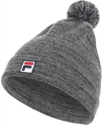 Шапка FilaУдобная шапка fila с помпоном в спортивном стиле. Отличный вариант на холодную осень или зиму! Модель выполнена из мягкой и приятной на ощупь акриловой пряжи.<br>Пол: Мужской; Возраст: Взрослые; Вид спорта: Спортивный стиль; Материал верха: 100 % акрил; Производитель: Fila; Артикул производителя: AFLHAU012A; Страна производства: Россия; Размер RU: Без размера;