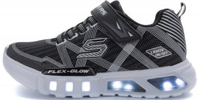 Кроссовки для мальчиков Skechers Flex-Glow, размер 31Кроссовки <br>Яркие и легкие кроссовки для мальчиков из линейки flex-glow от skechers для невероятного образа в спортивном стиле.