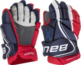 Перчатки хоккейные подростковые Bauer BAUER S18 VAPOR X800 LITE