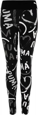 Легинсы для девочек Puma Alpha AOP, размер 152