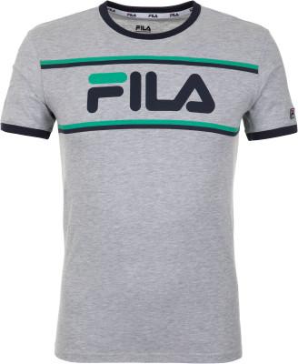 Футболка мужская Fila, размер 54Футболки<br>Удобная футболка fila, выполненная в спортивном стиле. Натуральные материалы модель выполнена из натурального воздухопроницаемого хлопка.