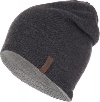 Шапка мужская ZienerАксессуары<br>Удобная шапка ziener подходит для занятий зимними видами спорта. Изделие из акрила отлично сохраняет тепло, обеспечивая максимально комфортные ощущения при носке.