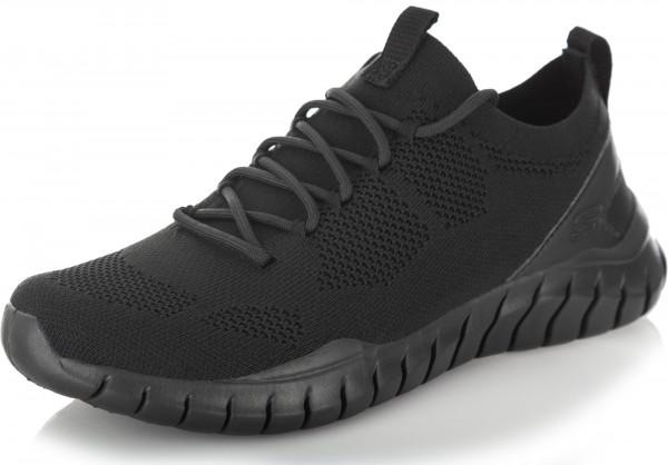 81906a5a2c7b Кроссовки мужские Skechers Overhaul черный цвет - купить за 3149 руб. в  интернет-магазине Спортмастер