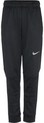 Брюки для мальчиков Nike ThermaБрюки для мальчиков nike therma отлично подойдут для тренинга в прохладную погоду.<br>Пол: Мужской; Возраст: Дети; Вид спорта: Тренинг; Силуэт брюк: Зауженный; Наличие карманов: Есть; Количество карманов: 2; Технологии: Nike Dri-FIT; Производитель: Nike; Артикул производителя: 818938-010; Страна производства: Малайзия; Материал верха: 100 % полиэстер; Размер RU: 152-158;