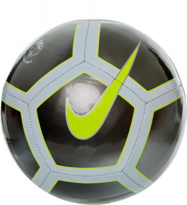 Мяч футбольный Nike Premier League PitchФутбольный мяч premier league pitch с высококонтрастной графикой хорошо заметен во время игр. По центру мяча расположена эмблема английской премьер-лиги.<br>Сезон: 2017/2018; Возраст: Взрослые; Вид спорта: Футбол; Тип поверхности: Универсальные; Назначение: Любительские; Материал покрышки: Синтетическая кожа; Материал камеры: Резина; Способ соединения панелей: Машинная сшивка; Количество панелей: 32; Производитель: Nike; Артикул производителя: SC3137-056; Срок гарантии: 30 дней; Страна производства: Вьетнам; Размер RU: 5;