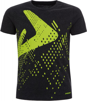 Футболка для мальчиков Demix, размер 134Футболки и майки<br>Практичная хлопковая футболка demix для образа в спортивном стиле. Натуральные материалы ткань изготовлена из натурального воздухопроницаемого хлопка.
