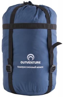 Компрессионный мешок OutventureКомпрессионный мешок для компактной упаковки спальника.<br>Пол: Мужской; Возраст: Взрослые; Вид спорта: Кемпинг, Походы; Состав: ткань: 100% полиэстер; Размер (Д х Ш), см: 45 x 25; Производитель: Outventure; Артикул производителя: IE6020Z2; Срок гарантии: 2 года; Страна производства: Китай; Размер RU: Без размера;