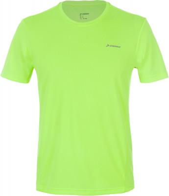 Футболка мужская Demix, размер 46Мужская одежда<br>Практичная футболка для бега от demix. Отведение влаги технология movi-tex обеспечивает влагоотводящие свойства ткани. Свобода движений прямой крой не стесняет движения.