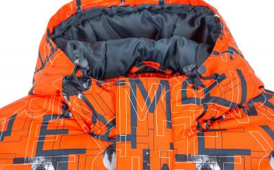 Фото 3 - Куртку утепленная для мальчиков Termit, размер 164 красного цвета