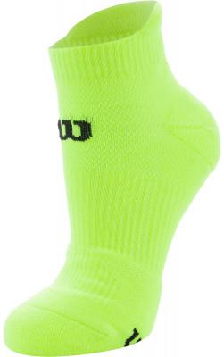 Носки Wilson Running Low Cut, 1 параНизкие спортивные носки для бега. Мохровая пятка и мысок придают дополнительную мягкость. Поддержка свода стопы обеспечивает комфорт во время бега и ходьбы.<br>Пол: Мужской; Возраст: Взрослые; Вид спорта: Бег; Производитель: Wilson; Артикул производителя: W411-Y; Страна производства: Китай; Материалы: 60% полиэстер, 22% нейлон, 15% хлопок, 3% эластан; Размер RU: 35-38;