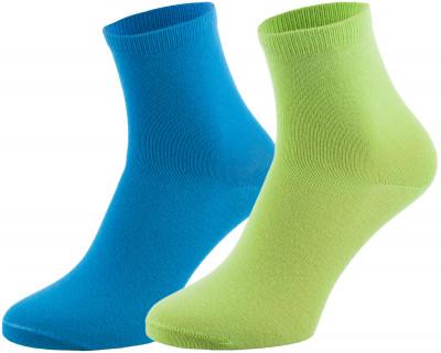 Носки Demix, 2 парыЯркие носки demix прекрасно подойдут для занятий спортом и повседневной носки. В комплекте 2 пары.<br>Пол: Мужской; Возраст: Взрослые; Вид спорта: Спортивный стиль; Материалы: 63% хлопок, 35% полиэстер, 2% эластан; Производитель: Demix; Артикул производителя: DUCZ02GBM; Страна производства: Пакистан; Размер RU: 39-42;