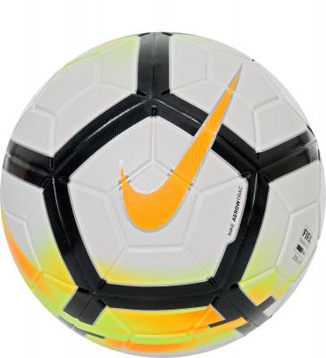 Мяч футбольный Nike MagiaФутбольный мяч nike magia - отличная модель для тренировок. Конструкция модели гарантирует оптимальное чувство мяча во время игры.<br>Сезон: 2017/2018; Возраст: Взрослые; Вид спорта: Футбол; Тип поверхности: Универсальные; Назначение: Тренировочные; Материал покрышки: Синтетическая кожа; Материал камеры: Резина; Способ соединения панелей: Машинная сшивка; Количество панелей: 12; Производитель: Nike; Артикул производителя: SC3154-100; Срок гарантии: 6 месяцев; Страна производства: Бельгия; Размер RU: 5;