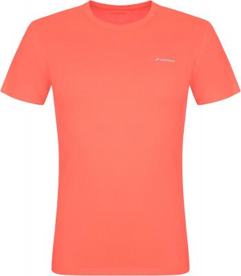 Футболка мужская Demix, размер 52Мужская одежда<br>Практичная футболка для бега от demix. Отведение влаги технология movi-tex обеспечивает влагоотводящие свойства ткани.