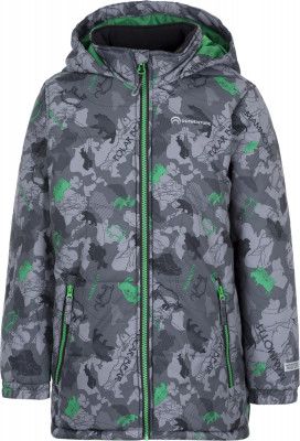 Куртка утепленная для мальчиков OutventureПрактичная куртка для мальчиков от outventure пригодится в путешествиях. Сохранение тепла синтетический утеплитель весом 200 г м2 согреет в холодные дни.<br>Пол: Мужской; Возраст: Малыши; Вид спорта: Путешествие; Вес утеплителя на м2: 200 г/м2; Наличие мембраны: Да; Наличие чехла: Нет; Возможность упаковки в карман: Нет; Регулируемые манжеты: Нет; Водонепроницаемость: 3000 мм; Паропроницаемость: 3000 г/м2/24 ч; Защита от ветра: Да; Покрой: Прямой; Светоотражающие элементы: Да; Дополнительная вентиляция: Нет; Проклеенные швы: Нет; Длина куртки: Средняя; Наличие карманов: Да; Капюшон: Не отстегивается; Количество карманов: 2; Артикулируемые локти: Нет; Застежка: Молния; Технологии: ADD DRY; Производитель: Outventure; Артикул производителя: UJAB10A411; Страна производства: Китай; Материал верха: 100 % полиэстер; Материал подкладки: 100 % полиэстер; Материал утеплителя: 100 % полиэстер; Размер RU: 110;