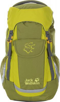 JACK WOLFSKIN KIDS EXPLORERРюкзаки<br>Детский рюкзак объемом 20 л для юных путешественников. Светоотражающие элементы для дополнительной безопасности на фронтальной части рюкзака расположены светоотражатели.