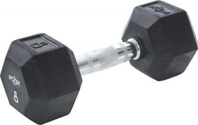 Гантель гексагональная обрезиненная RZR, 8 кгГантели rzr весом 8 кг - оптимальный выбор для силовых упражнений и функциональных тренировок.<br>Вес, кг: 8 кг; Вид спорта: Кардиотренировки, Фитнес; Производитель: RZR; Срок гарантии: 2 года; Артикул производителя: RZR-HEX-08; Страна производства: Китай; Размер RU: Без размера;