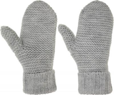 Варежки женские Outventure, размер 7,5Перчатки, рукавицы<br>Варежки женские от outventure - прекрасный выбор для ежедневного использования в холодную погоду.
