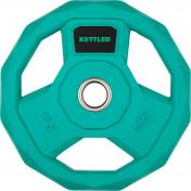 Блин стальной обрезиненный Kettler 5 кг, 2020-21