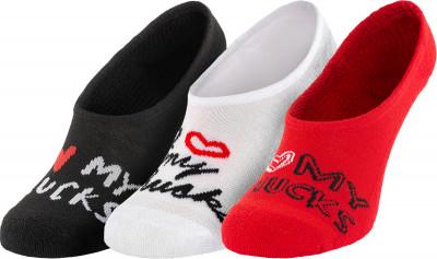 Носки женские Converse MFC OX, 3 пары, размер 35-38