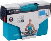 Набор для йоги: блок и ремень Demix