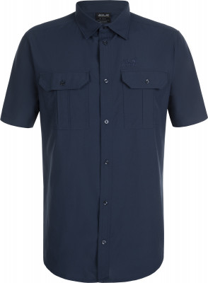 Рубашка с коротким рукавом мужская Jack Wolfskin Kwando River, размер 58
