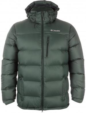 Куртка пуховая мужская Columbia Groomed Powder Down зеленый цвет ... c8df88cef6d