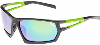 Солнцезащитные очки UvexФункциональные солнцезащитные очки. Дизайн обеспечит оптимальный обзор, а специальное покрытие litemirror - защиту от бликов и инфракрасного излучения даже при ярком свете.<br>Цвет линз: Зеленый Зеркальный; Назначение: Спортивный стиль; Пол: Мужской; Возраст: Взрослые; Вид спорта: Спортивный стиль; Ультрафиолетовый фильтр: Есть; Зеркальное напыление: Есть; Материал линз: Поликарбонат; Оправа: Пластик; Технологии: 100% UVA- UVB- UVC-PROTECTION, Decentered Lens, LITEMIRROR; Производитель: Uvex; Артикул производителя: S5308712716; Срок гарантии: 1 месяц; Страна производства: Китай; Размер RU: Без размера;