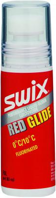 Мазь скольжения Swix F8L Red GliderФторосодержащая жидкая мазь скольжения swix red glider для температурного диапазона от 0 до 10с. Легко наносится и быстро сохнет. Объем 80 мл.<br>Вид спорта: Горные лыжи; Производитель: Swix; Артикул производителя: F8LNC; Размер RU: Без размера;