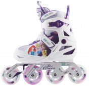 Роликовые коньки раздвижные для девочек REACTION Disney Princess