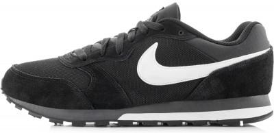 Кроссовки мужские Nike Runner 2Невероятно удобные кроссовки nike md runner 2, выполненные в стиле легендарной модели для бега 1990-х, дарят ощущение комфорта на протяжении всего дня.<br>Пол: Мужской; Возраст: Взрослые; Вид спорта: Спортивный стиль; Способ застегивания: Шнуровка; Материал верха: 52 % натуральная кожа, 48 % текстиль; Материал стельки: 100 % текстиль; Материал подошвы: 100 % резина; Производитель: Nike; Артикул производителя: 749794-010; Страна производства: Индонезия; Размер RU: 39;