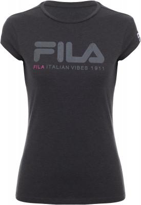 Футболка женская Fila, размер 44Футболки<br>Удобная и практичная футболка в спортивном стиле от fila. Натуральные материалы натуральный хлопок гарантирует комфорт и воздухообмен.