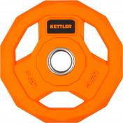 Блин стальной обрезиненный Kettler 1,25 кг