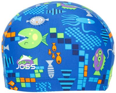 Шапочка для плавания детская JossУдобная и яркая детская шапочка для плавания от joss - это отличный выбор для похода в бассейн.<br>Пол: Мужской; Возраст: Дети; Вид спорта: Плавание; Назначение: Универсальные; Материалы: 80 % полиамид, 20 % эластан; Технологии: creora highclo; Производитель: Joss; Артикул производителя: SWCJ06M152; Страна производства: Китай; Размер RU: 52-54;