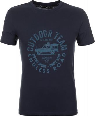Футболка мужская Outventure, размер 60Футболки<br>Хлопковая футболка от outventure прекрасно подойдет для путешествий в жаркие дни. Натуральные материалы натуральный воздухопроницаемый хлопок для максимального комфорта.